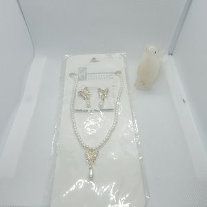 NWT Christina Collection Necklace & Earrings